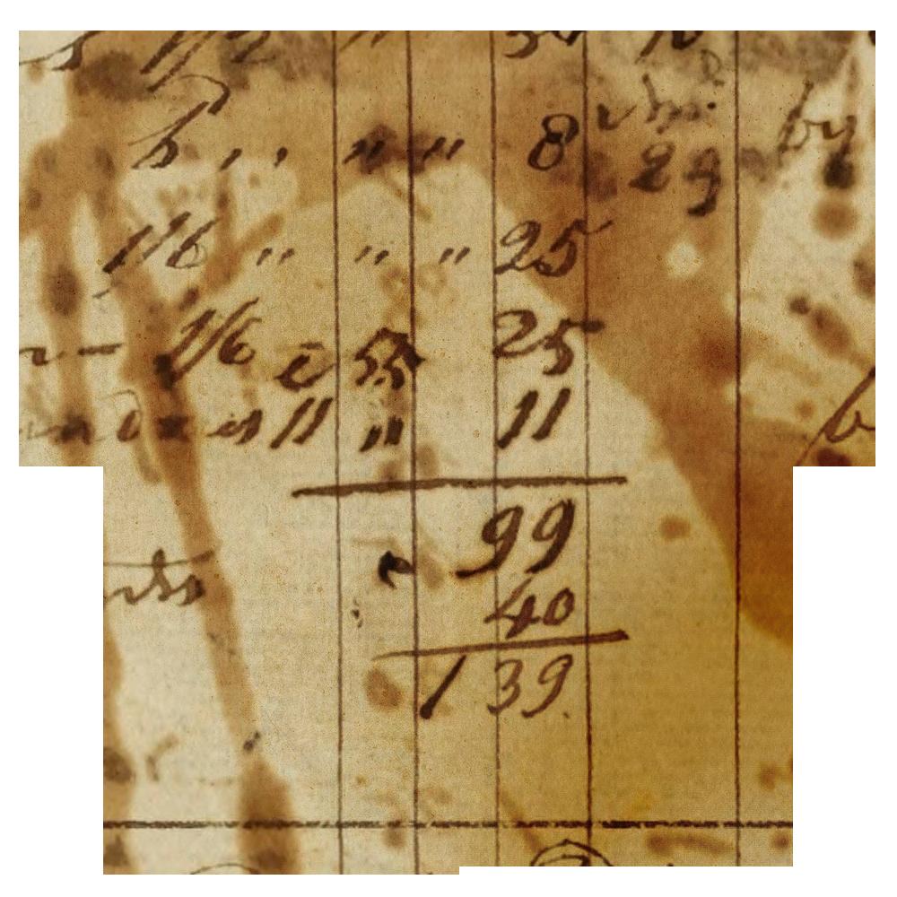 Vintage ledger paper call. Hearts clipart scrapbook