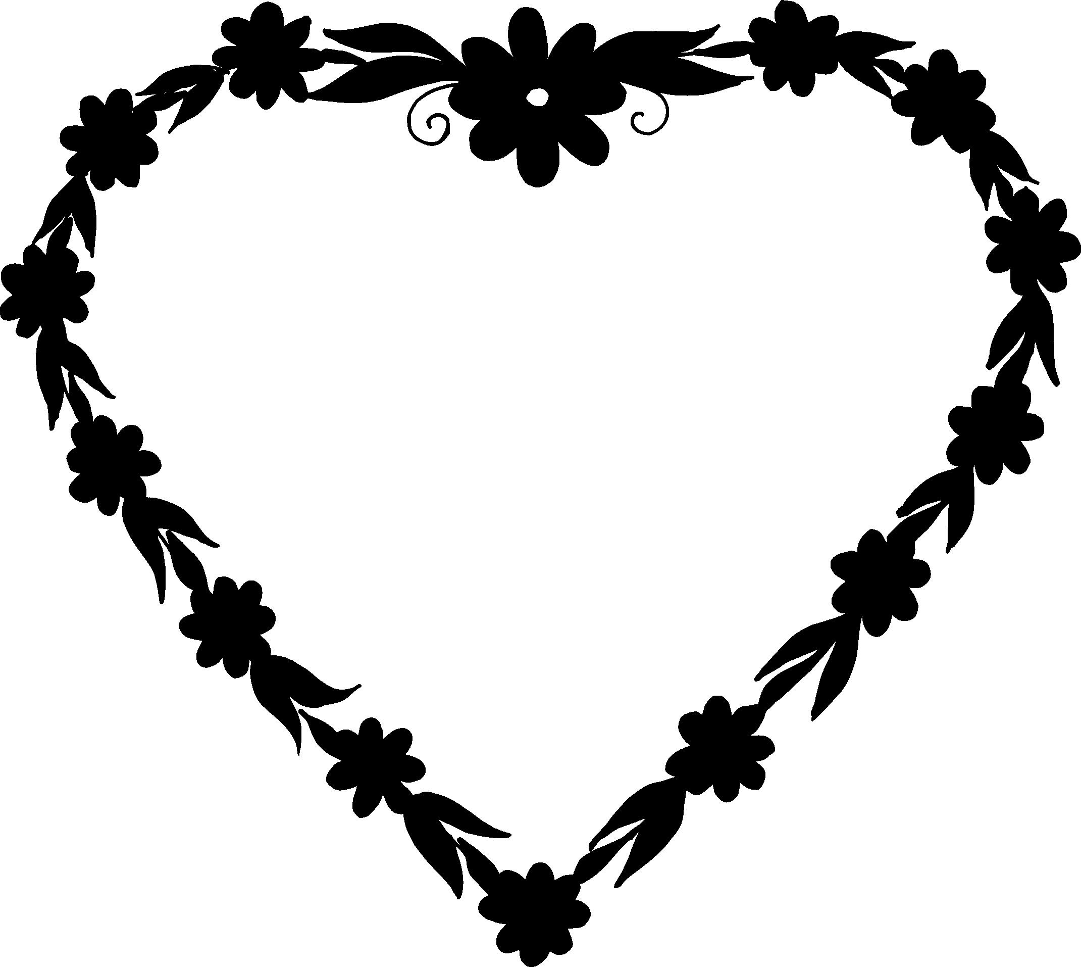 Heart frame png.  vector transparent svg