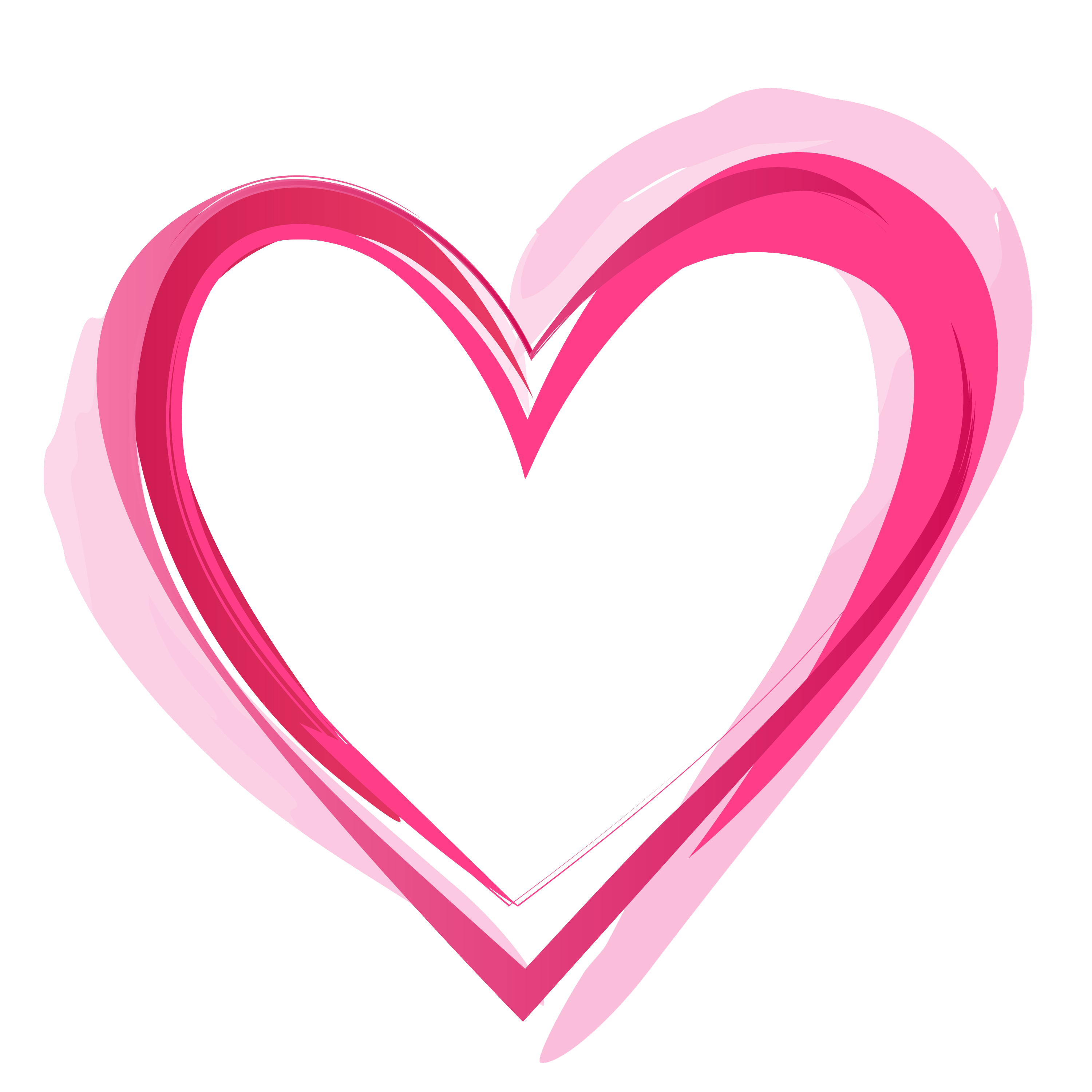 Heart png images. Pink pic mart