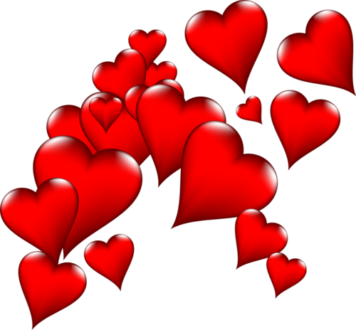 Heart png images. Bunch image