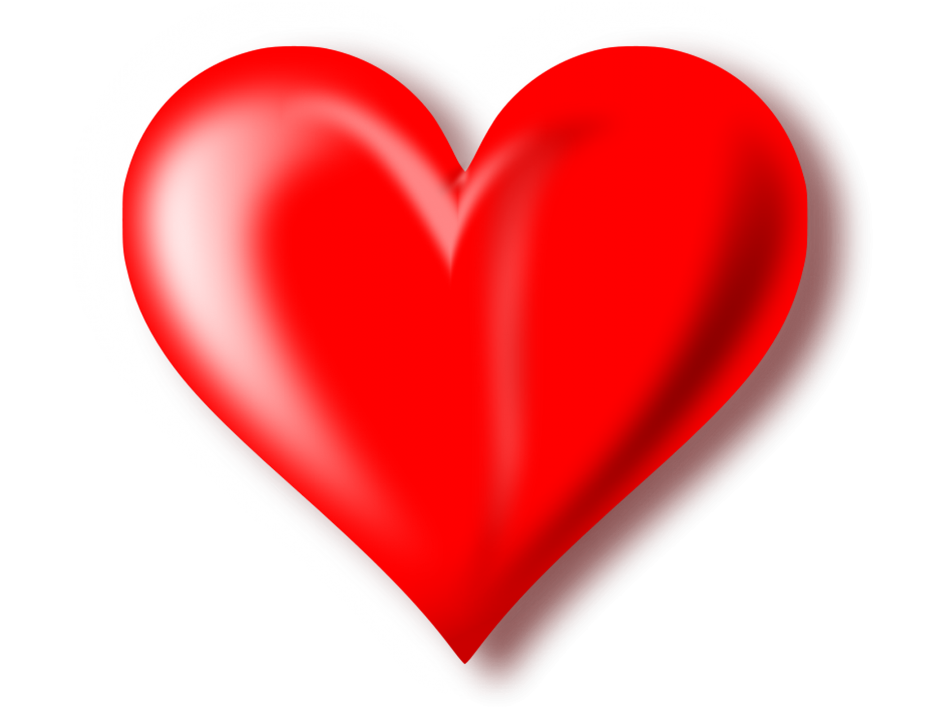 Heart png images with transparent background.  d red mart