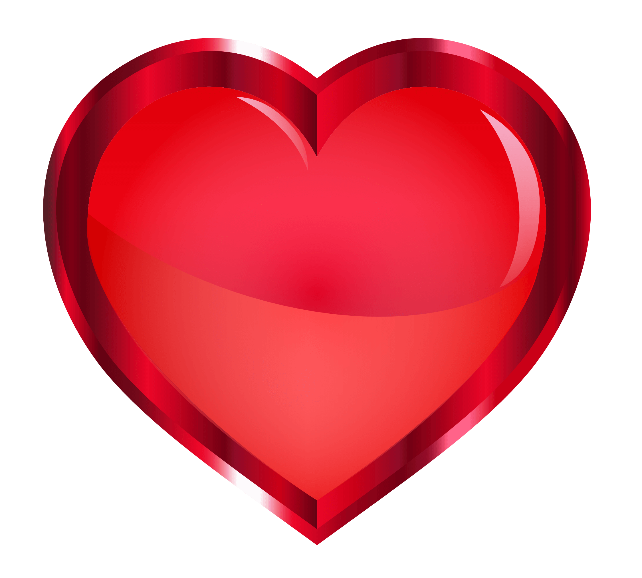 Red heart transparent image. Hearts background png