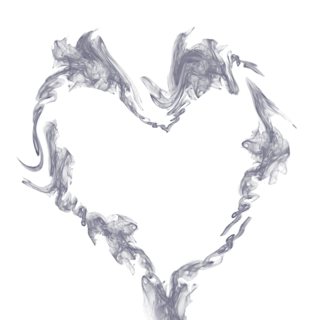 Love sticker by weird. Heart smoke png