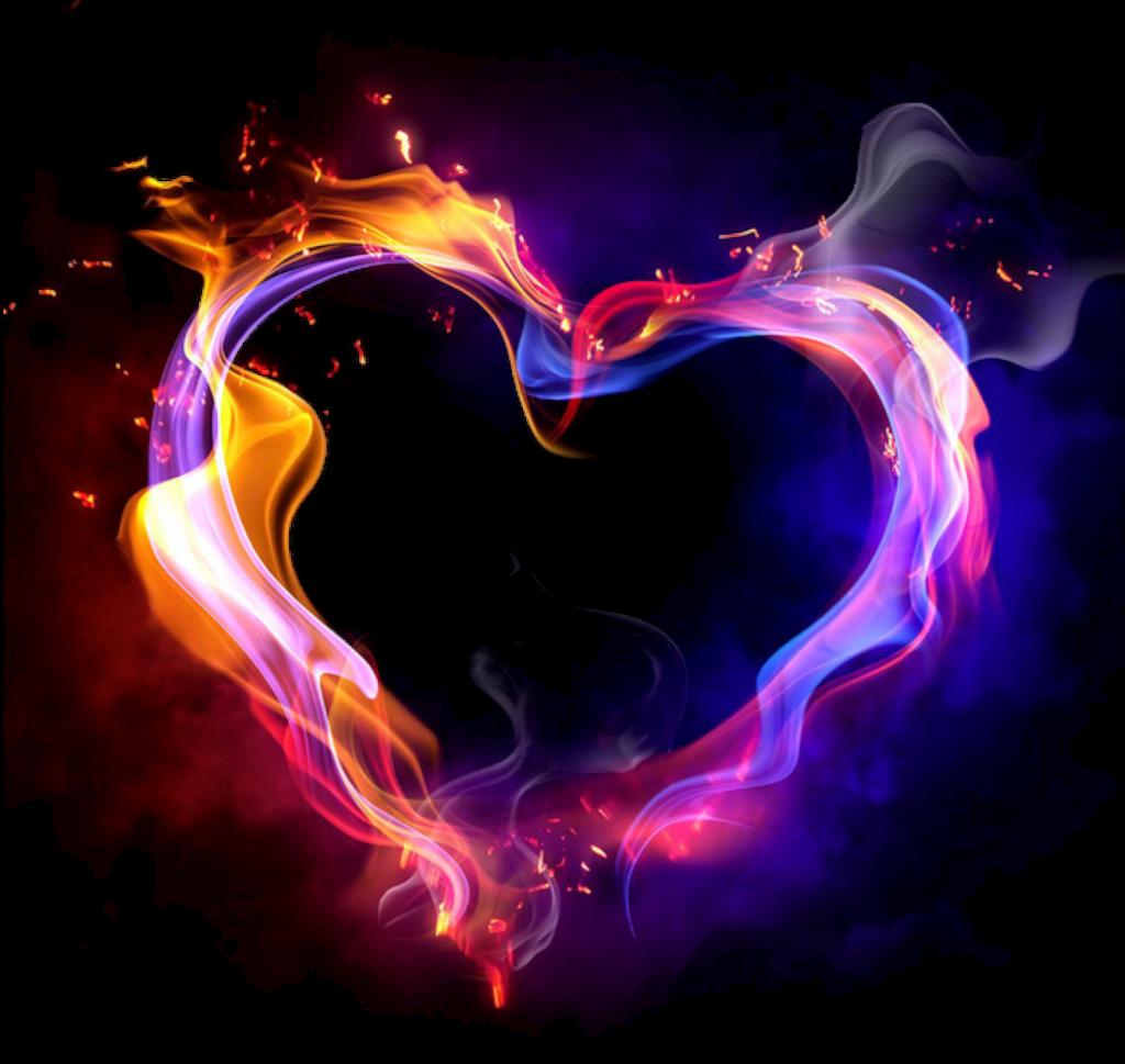 heart smoke png