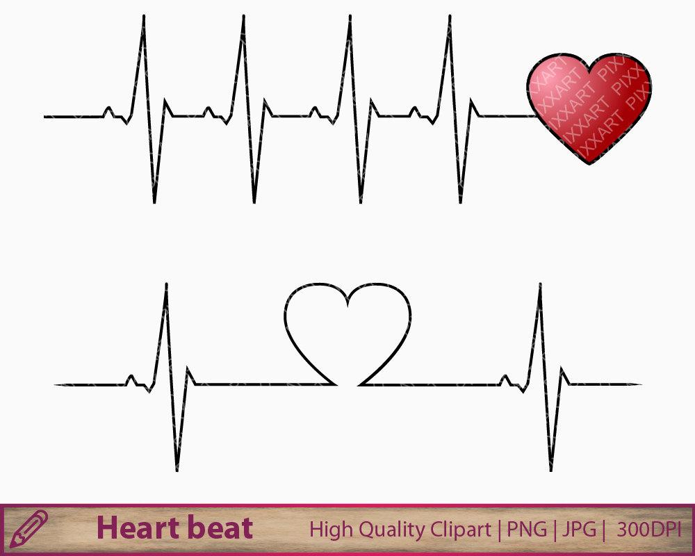 Heartbeat clipart. Heart beat clip art
