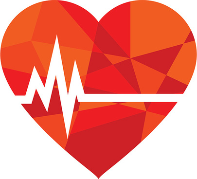 Vector free download for. Heartbeat clipart