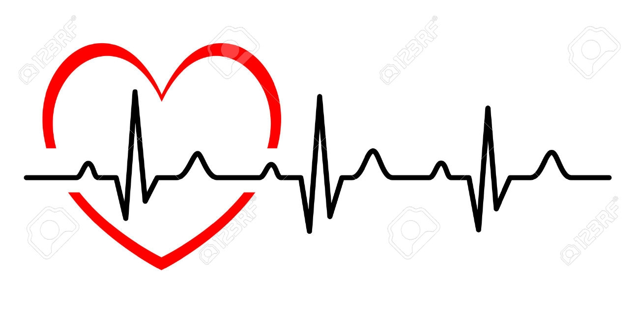 Heartbeat clipart. Best of design digital
