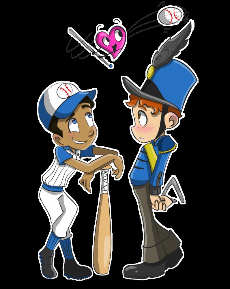 Heartbeat clipart baseball. Iahb swing batter by
