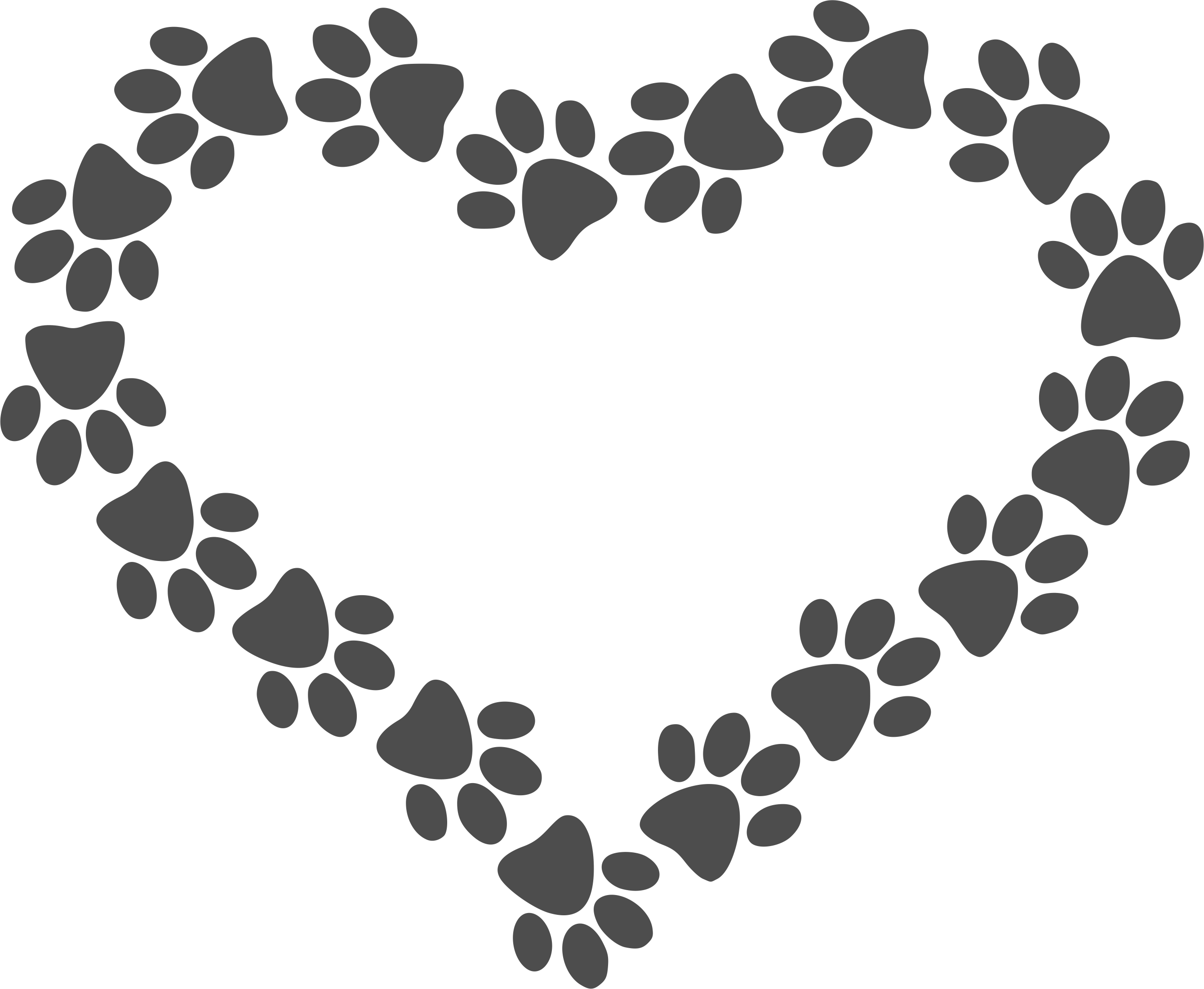 Heartbeat clipart basketball. Paw print heart decal