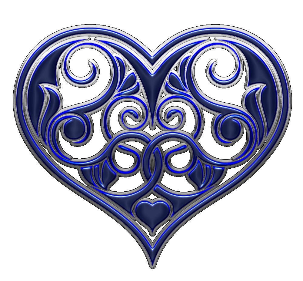Jewel clipart heart cut.  hearts blue pinterest