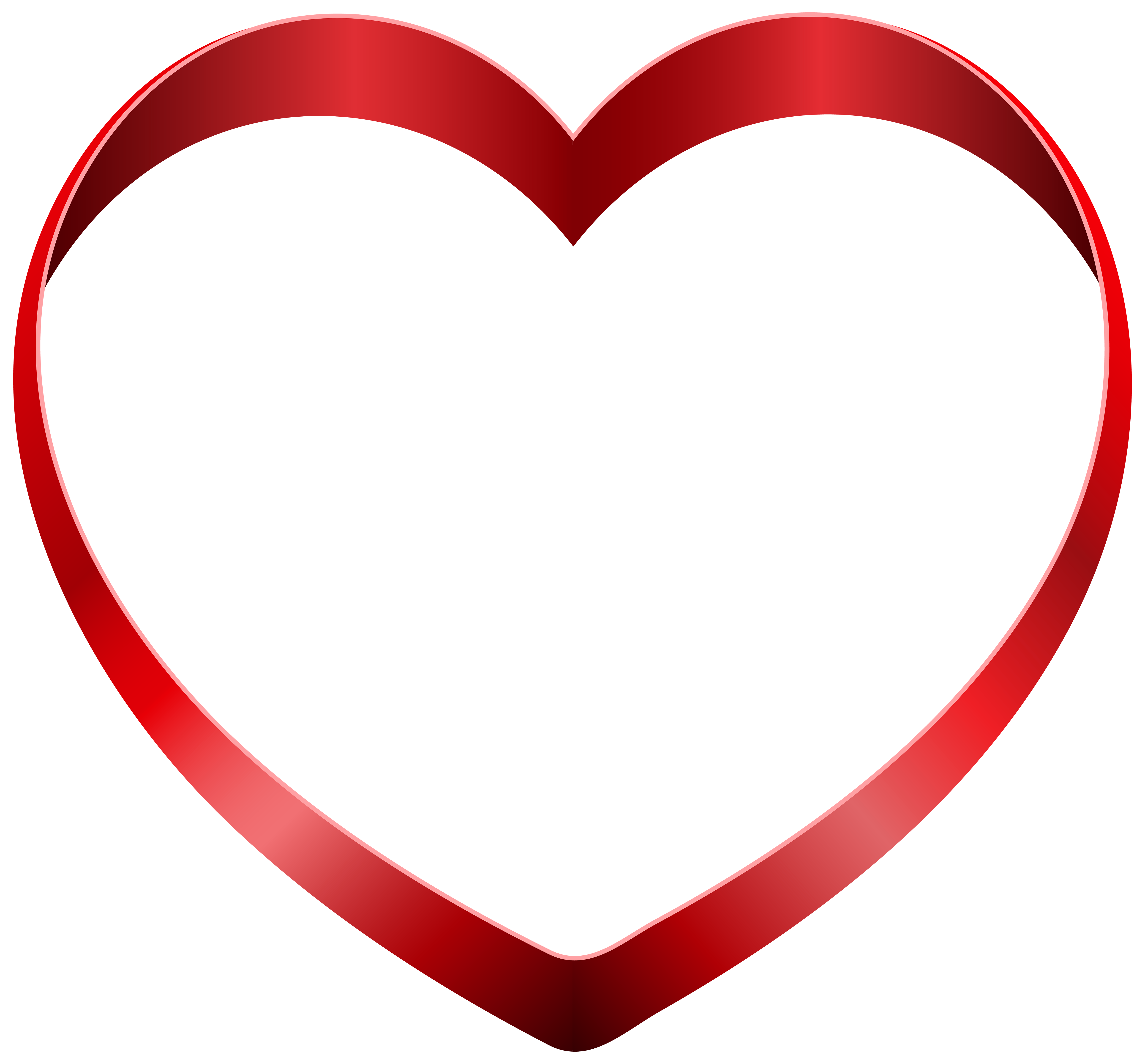 Transparent heart png icon. Heartbeat clipart blue