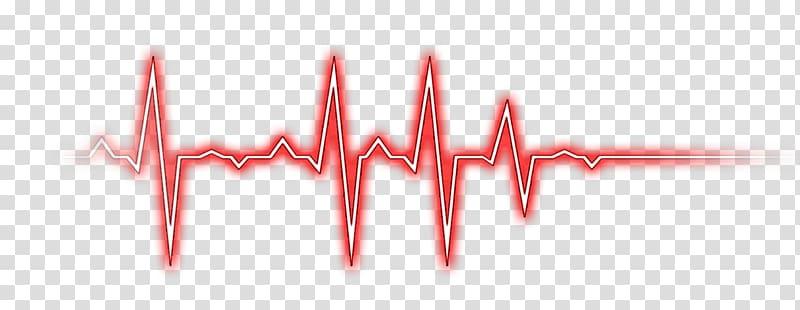 Red lifeline art heart. Heartbeat clipart cardiac rhythm