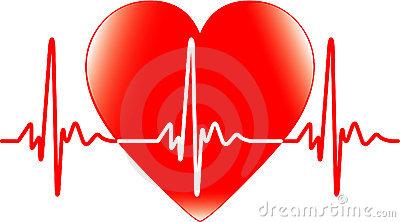 Heart rate free download. Heartbeat clipart cardiac rhythm