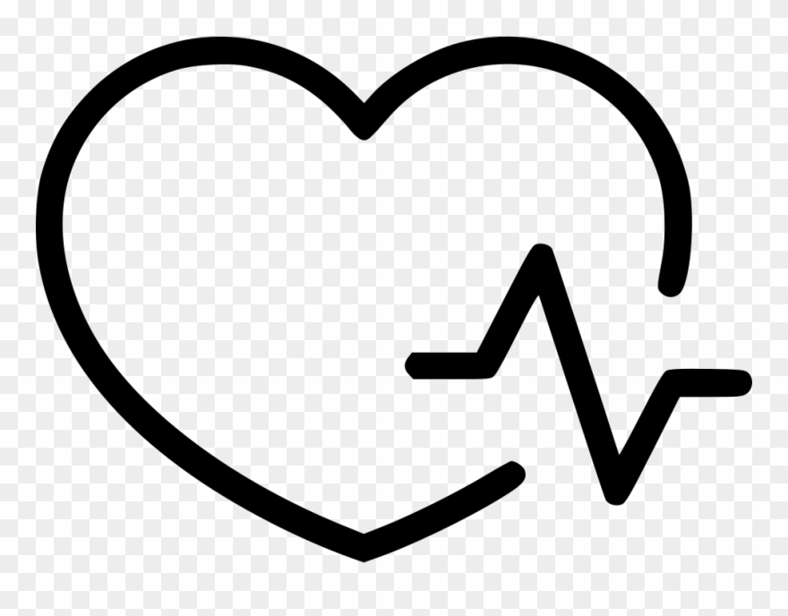 Heartbeat clipart cardiology. Heart pulse icon free