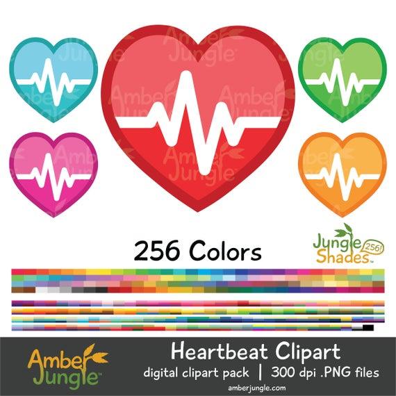 Heart rate clip art. Heartbeat clipart cute