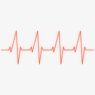 Heartbeat clipart damage. Line black and white