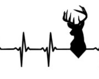 Heartbeat clipart deer. Free heart cliparts download