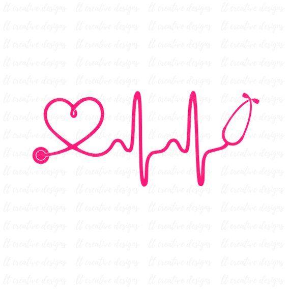 Svg nurse healthcare . Heartbeat clipart doctor