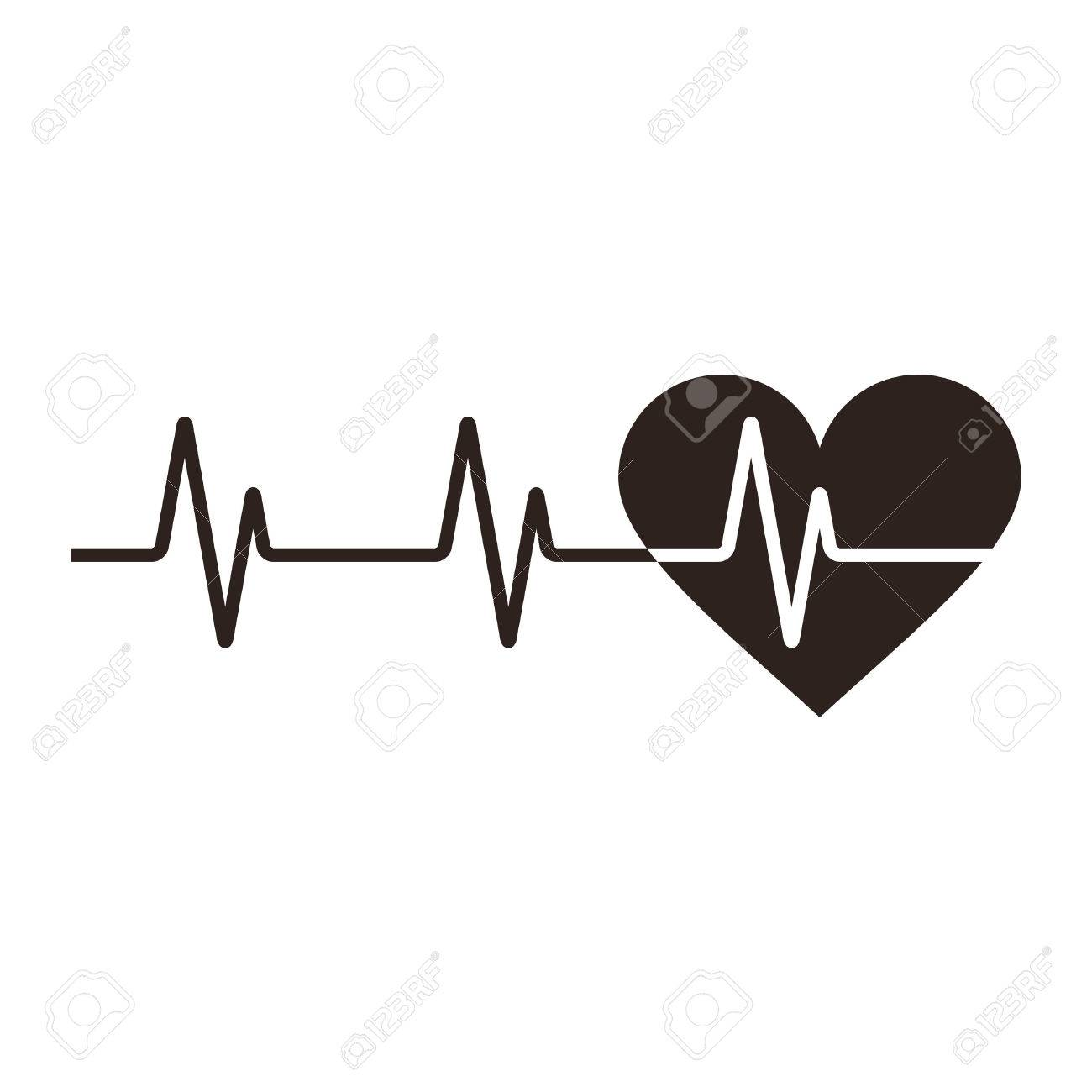 Heartbeat clipart ekg strip. Cliparts free download best