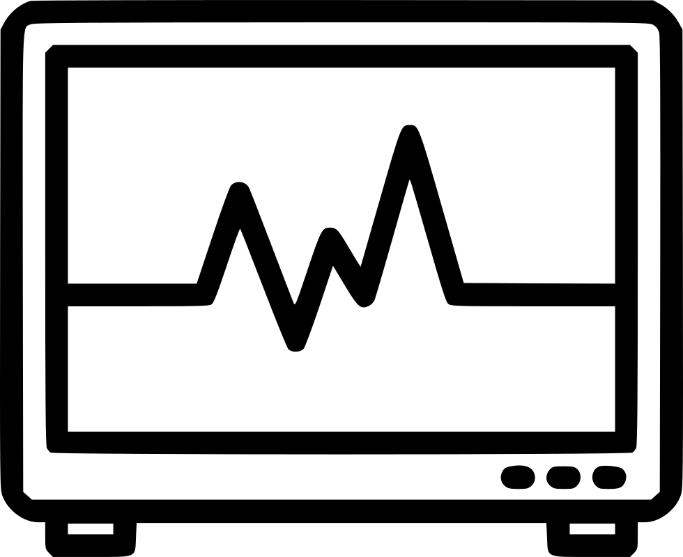 Heartbeat clipart file. Monitor svg png icon