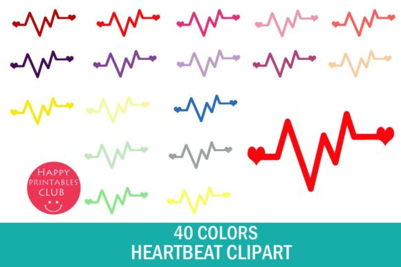 Graphics images . Heartbeat clipart happy