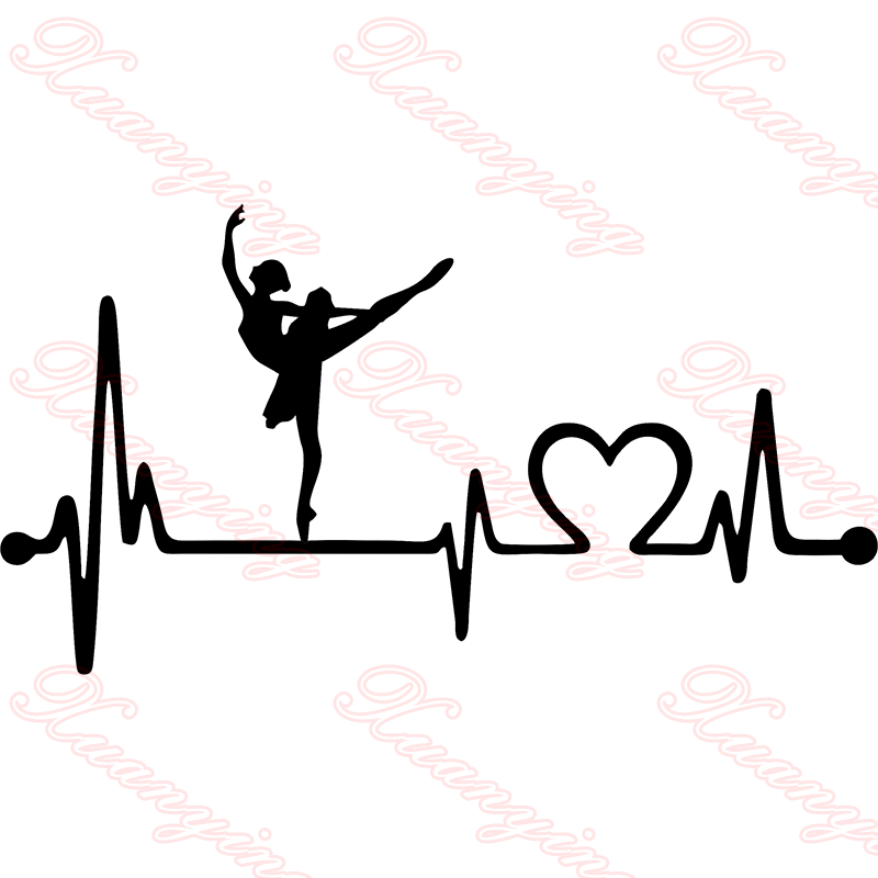 Heartbeat clipart hearbeat. Ballet ballerina dance lifeline