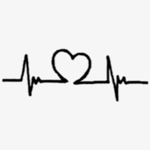 Live ideas easy beat. Heartbeat clipart heart drawing