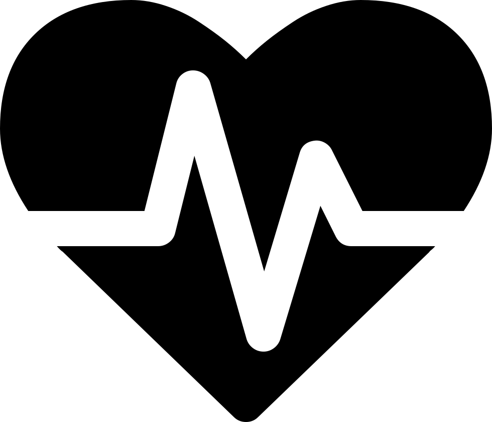 Font svg png icon. Heartbeat clipart heart rate
