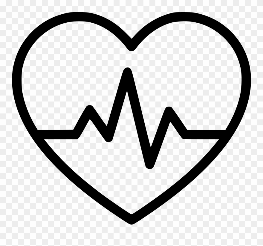 Heartbeat clipart heart rate. Ol comments beat black