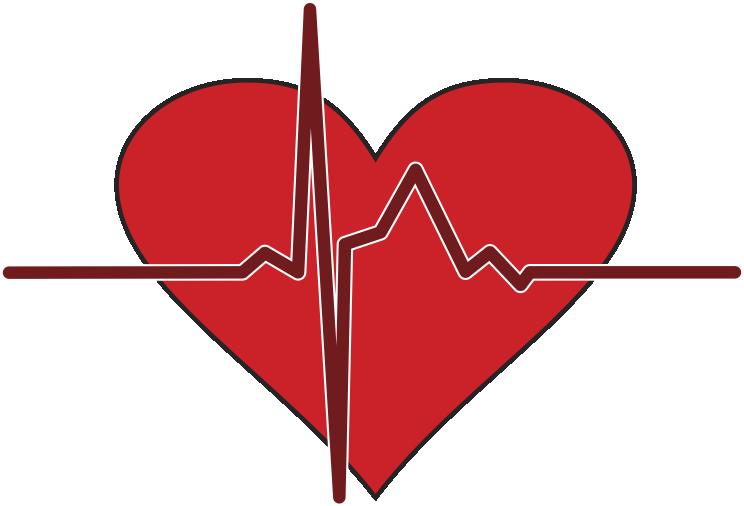 The life you save. Heartbeat clipart heart rhythm