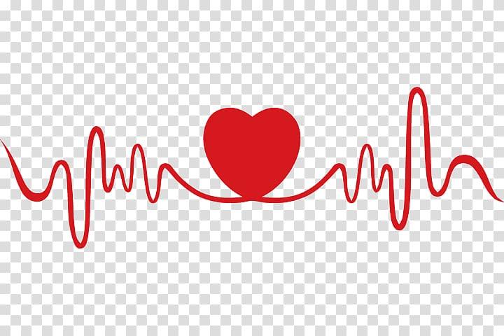 Heartbeat clipart heart valve. Rate pulse love transparent