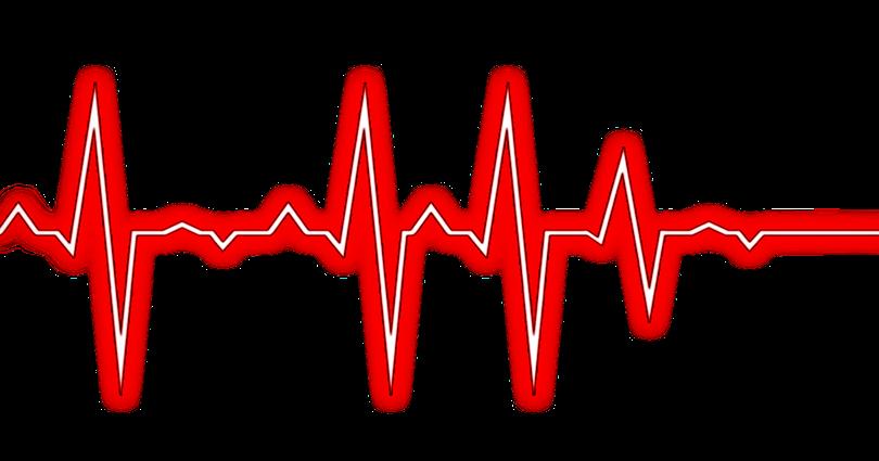 Zonaanaerobica com hrv variabilidad. Line clipart heartbeat