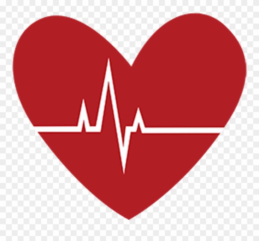 Heartbeat clipart logo. Medical heart freetoedit tea