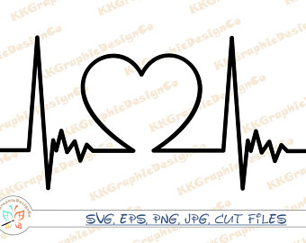 Nurse etsy . Heartbeat clipart medical assistant
