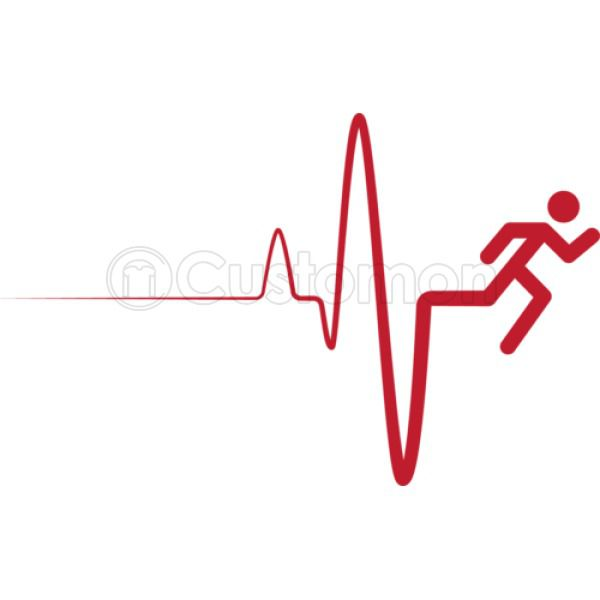 Heartbeat clipart poor health. Healthy living running line