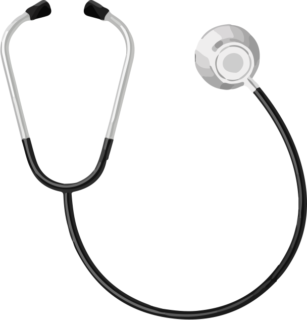 Stock photography clip art. Heartbeat clipart stethoscope
