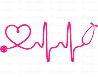 With station . Heartbeat clipart stethoscope