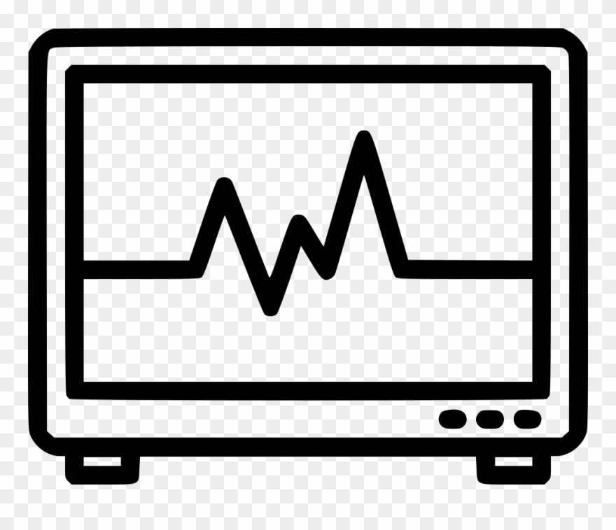 Heartbeat clipart telemetry. Monitor comments png