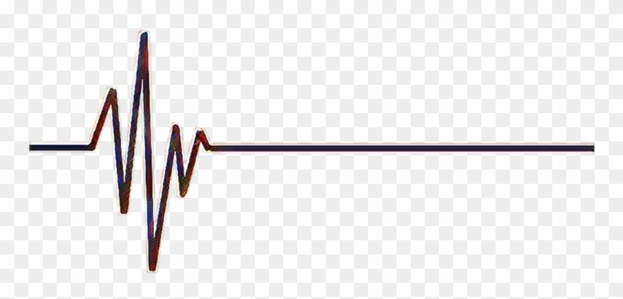 Heartbeat clipart transparent. Line background