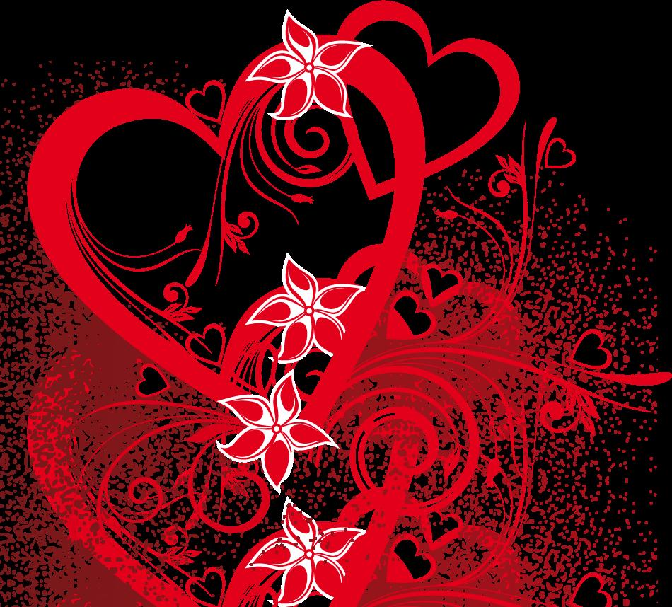 Coeur rouge transparent recherche. Heartbeat clipart vital sign