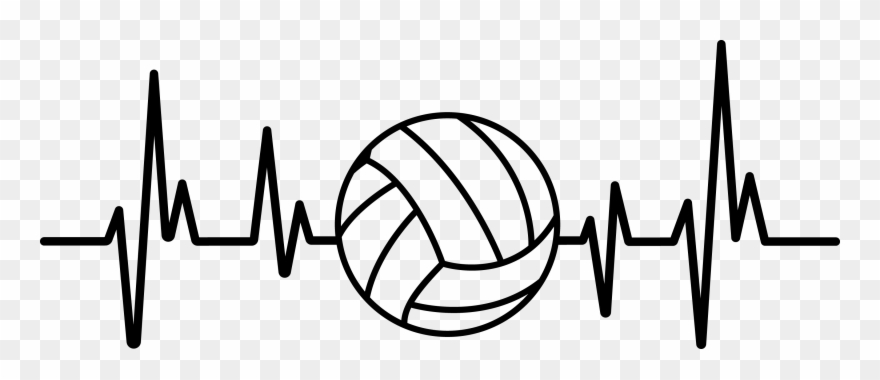 Heartbeat clipart volleyball. Health is wealth poster