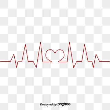 Heartbeat clipart wave. Png vector psd and