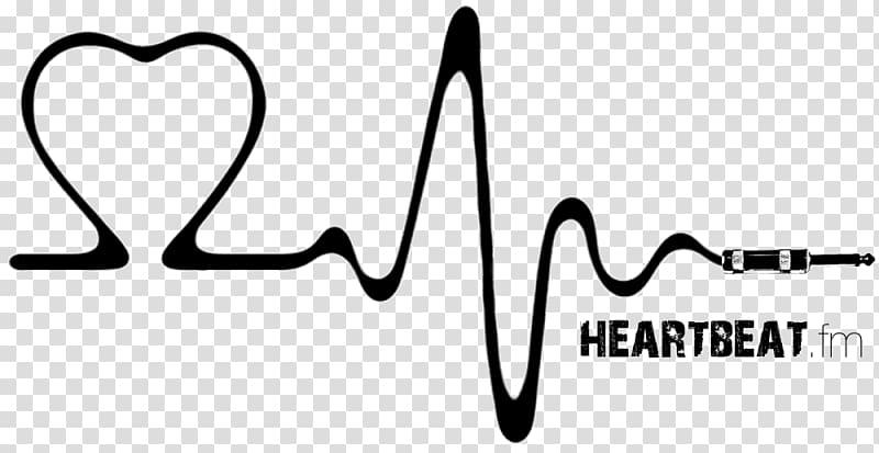 Fm logo heart rate. Heartbeat clipart wave