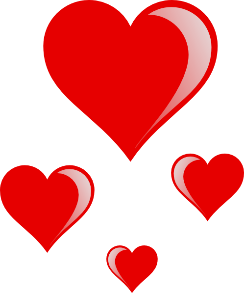 Free icons and backgrounds. Hearts clip art png