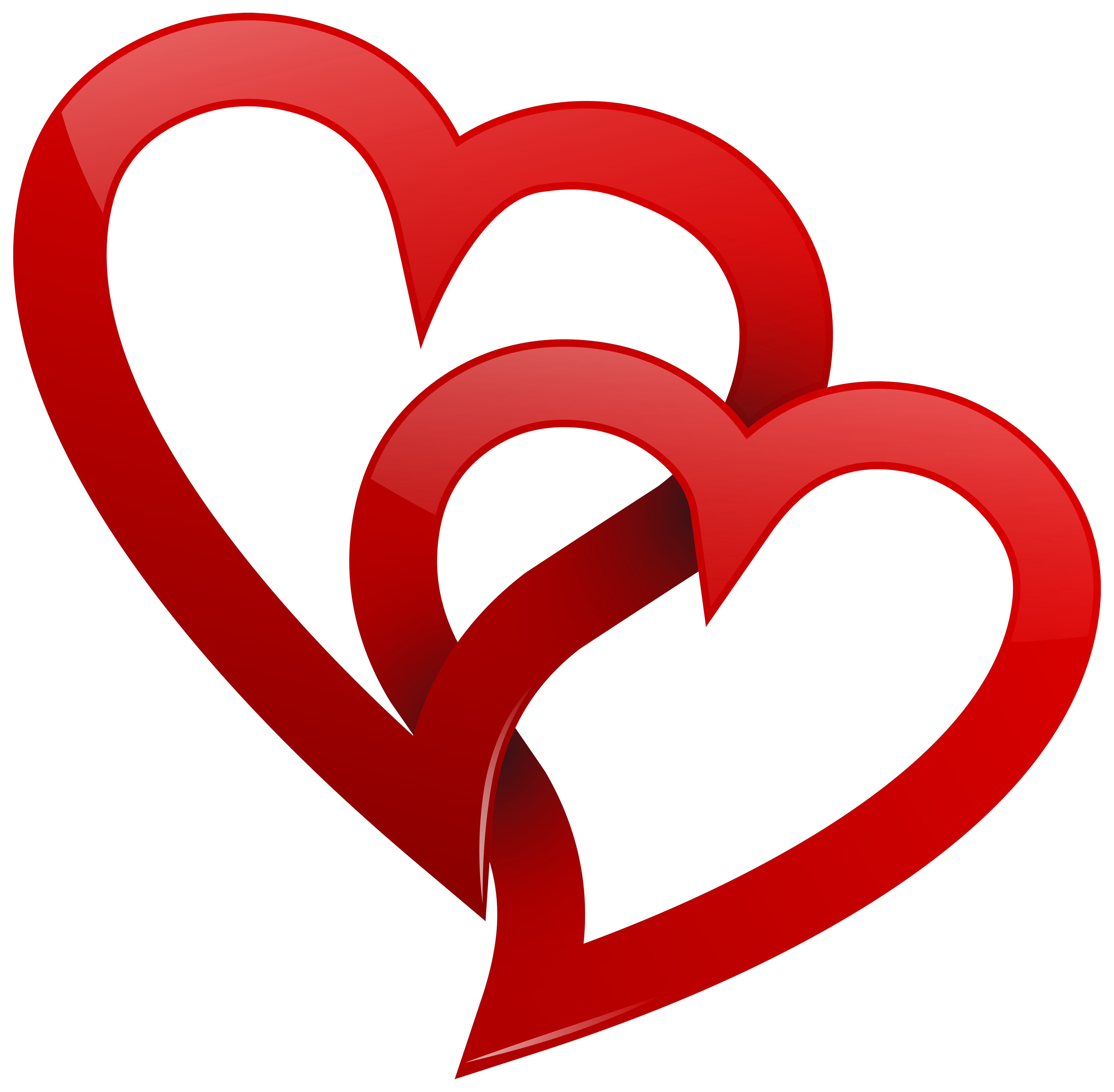 Two clipart best web. Red hearts png