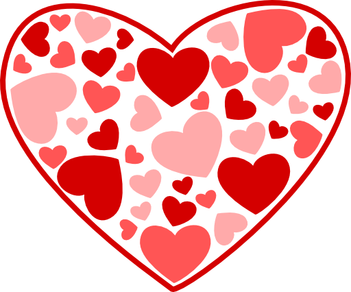 Clipart hearts. Heart clipartix download mnmgirls