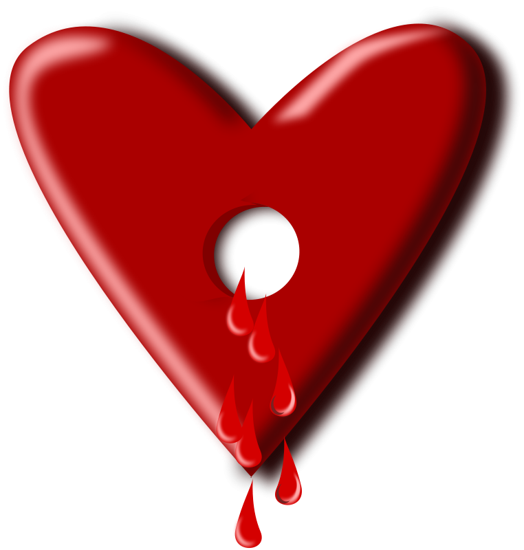Free dripping blood download. Hearts clipart animated