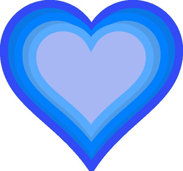 Blue heart free images. Hearts clipart bubble