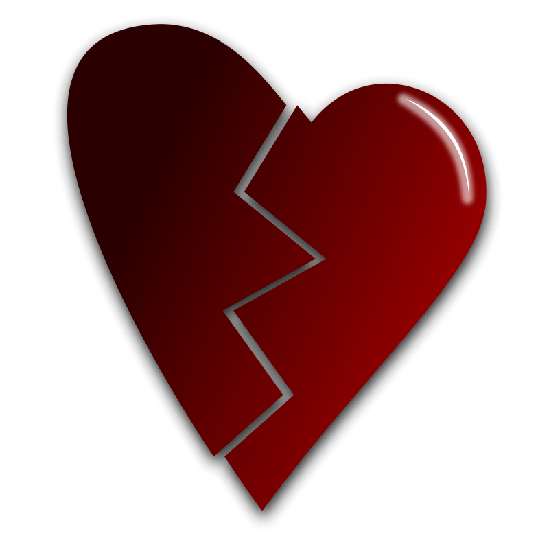 Hearts clipart cartoon. Free picture of heart