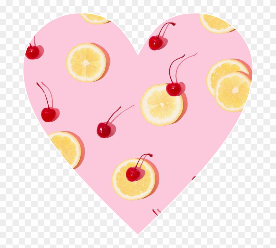 Heart love cute awesome. Hearts clipart cherry